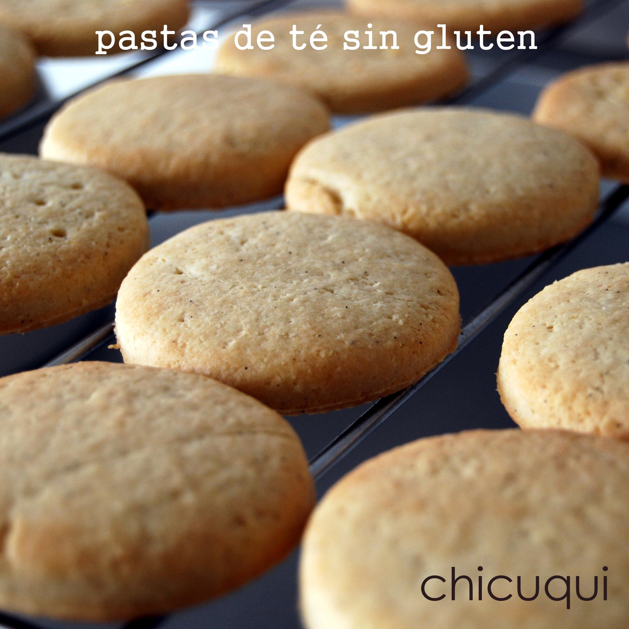Galletas sin gluten receta