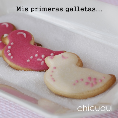 Mis primeras galletas decoradas chicuqui.com