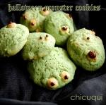 halloween receta de monster cookies en chicuqui galletas decoradas