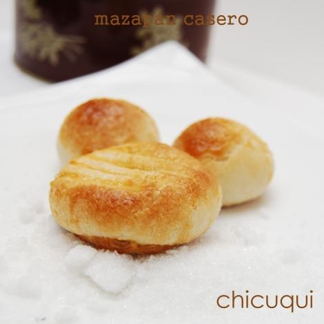 Mazapán casero recetas de Navidad galletas decoradas chicuqui
