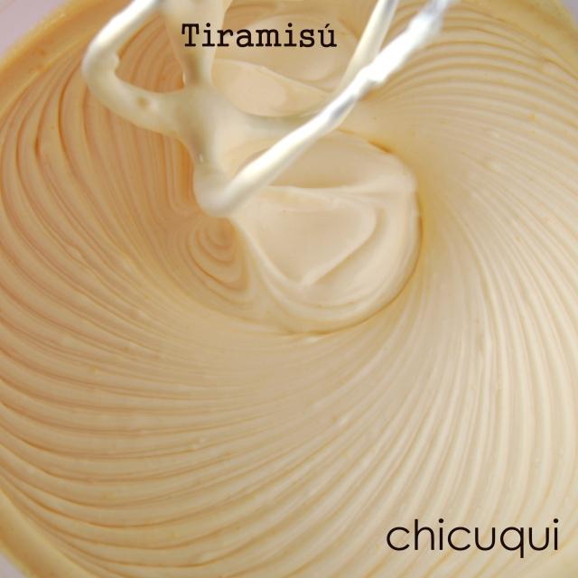 Receta de tiramisú en chicuqui.com