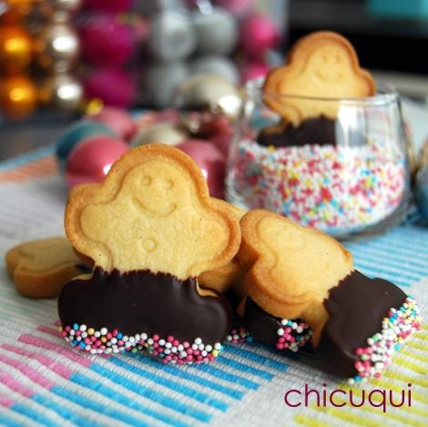 pastas de té muñeco de jengibre Navidad galletas decoradas chicuqui.com