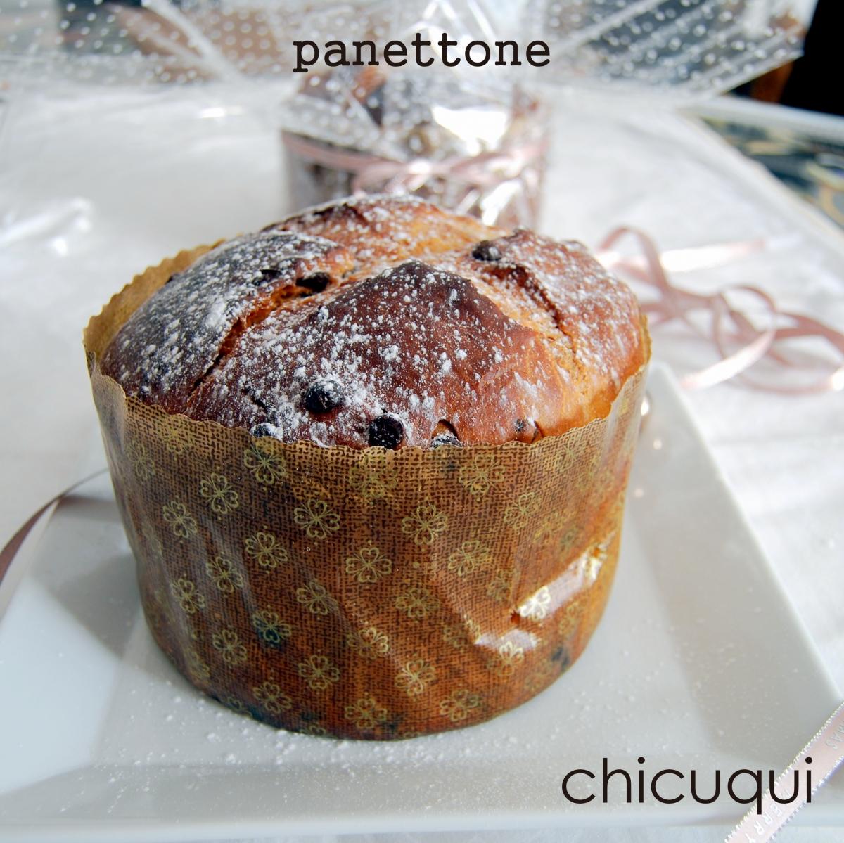 Receta de Panettone