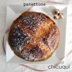 Receta de panettone para Navidad en galletas decoradas chicuqui.com