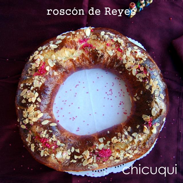 receta roscón de Reyes Navidad galletas decoradas chicuqui.com