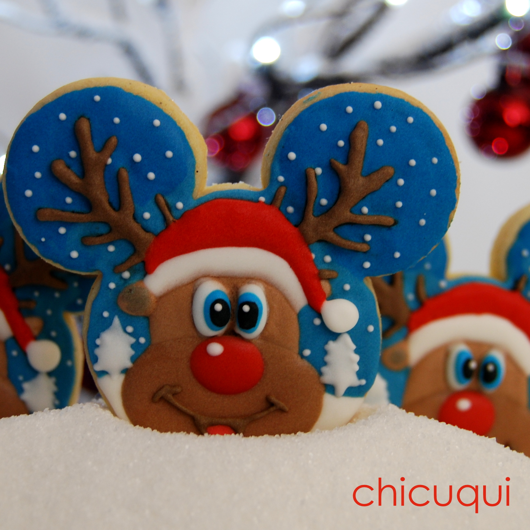 Renos De Santa Claus En Galletas Decoradas Divertidísimos