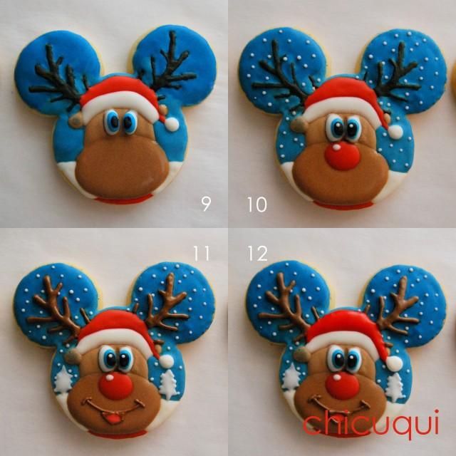 Renos de Navidad galletas decoradas chicuqui.com