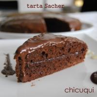 Receta de tarta Sacher sin gluten y sin lactosa