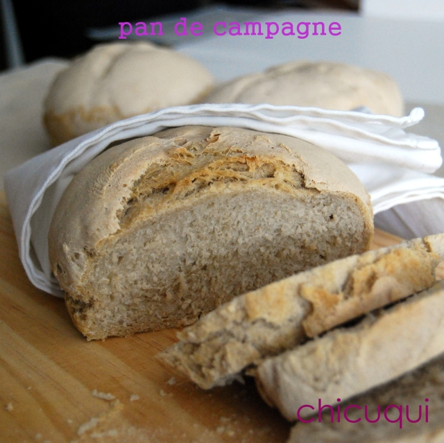receta pan casero rustipo campagne galletas decoradas chicuqui