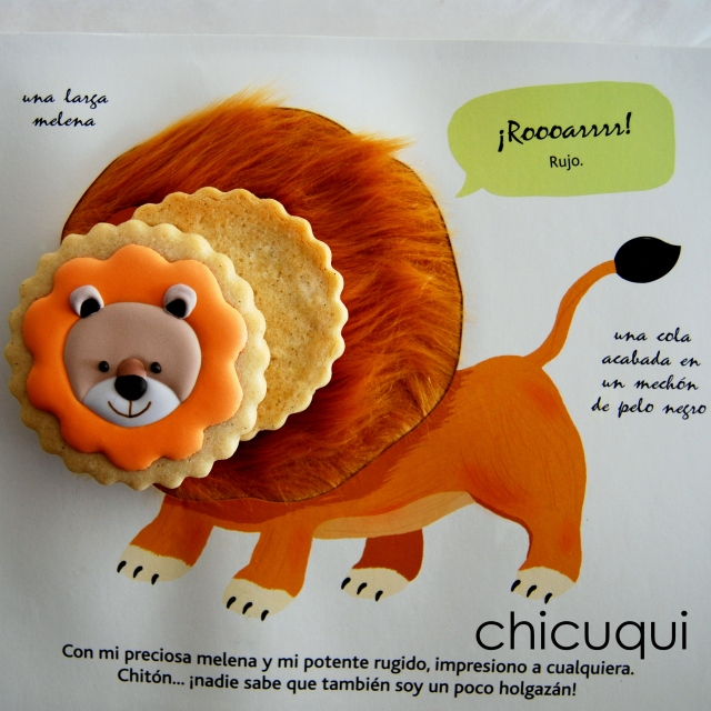 animales de la selva galletas decoradas chicuqui.com