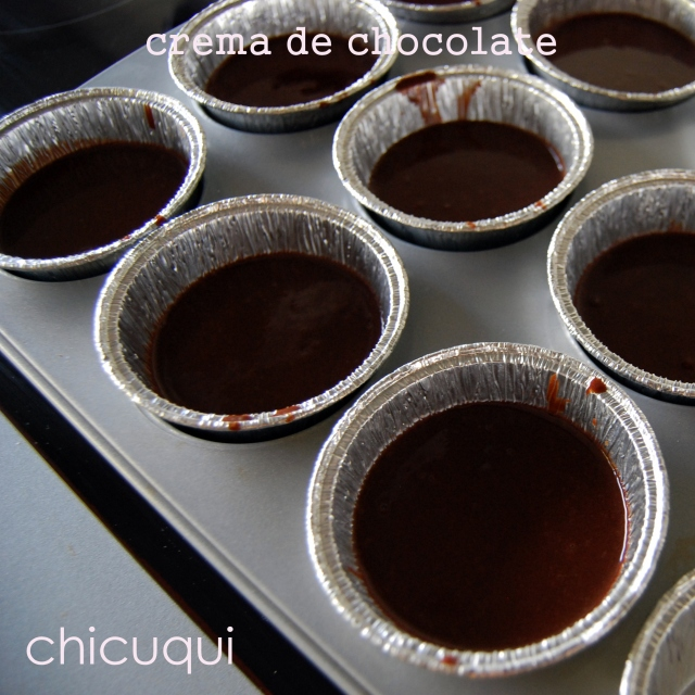 crema de chocolate galletas decoradas chicuqui.com