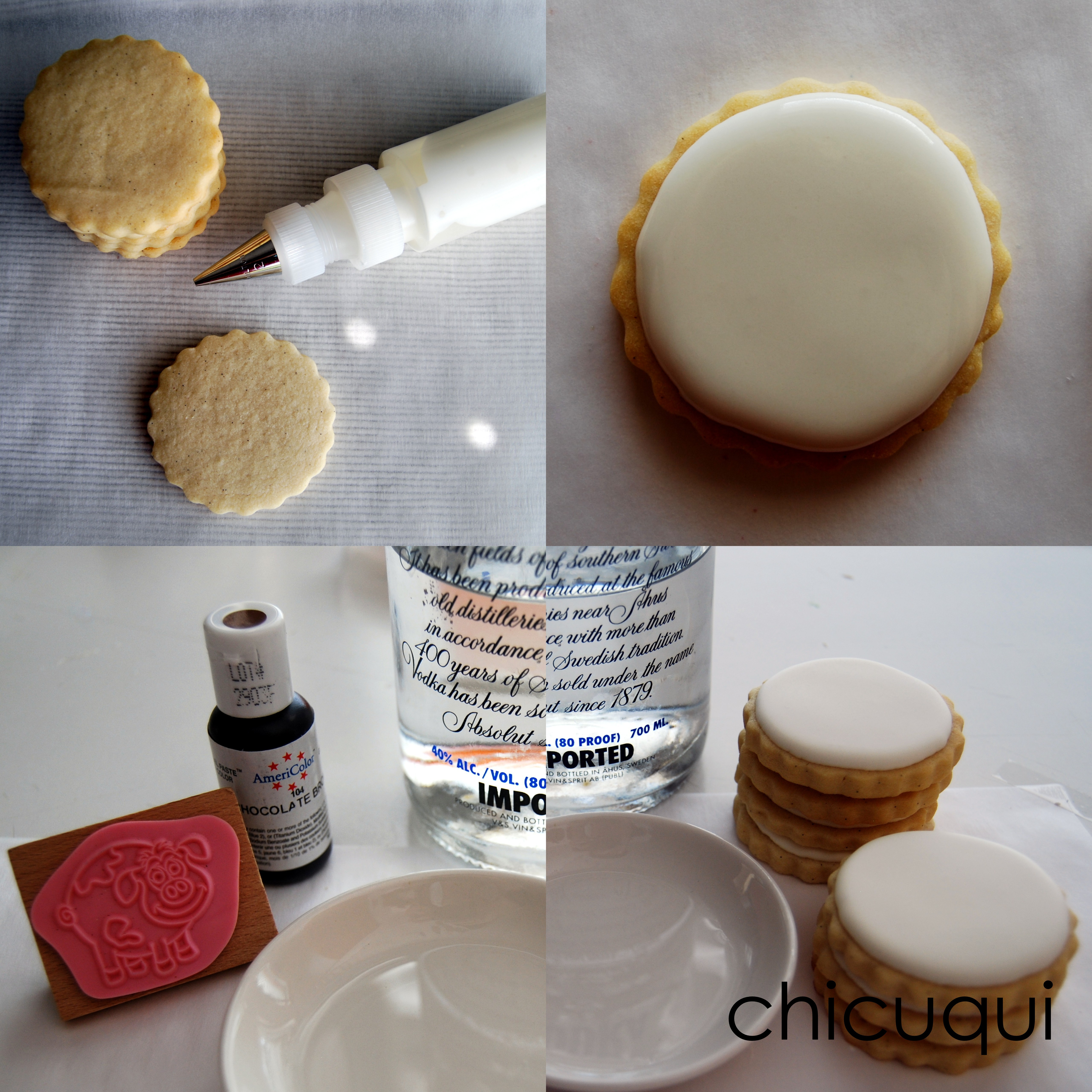 Receta Galletas Decoradas Con Glasa