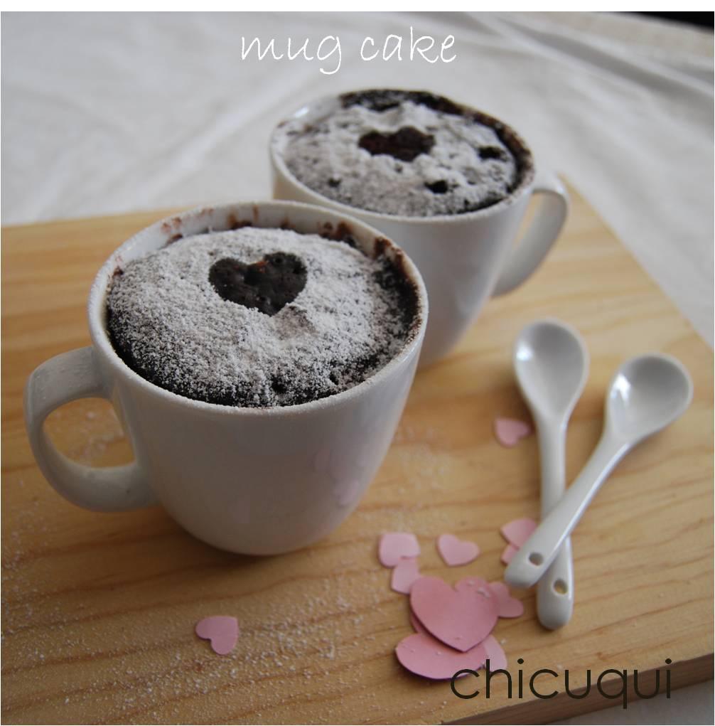Mug Cake De Chocolate Chicuqui