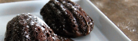 receta de madeleines de chocolate en chicuqui.com galletas decoradas