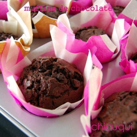 receta de muffins de chocolate en galletas decoradas chicuqui.com