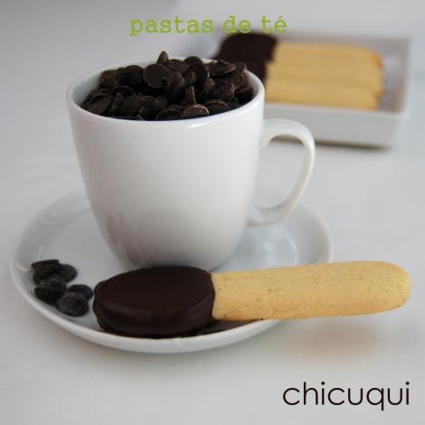 receta de pastas de té en forma de cuchara galletas decoradas chicuqui.com