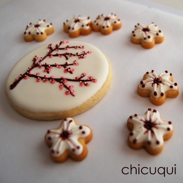 Almendros en flor primavera en galletas decoradas chicuqui.com