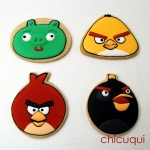 Angry birds galletas decoradas chicuqui.com