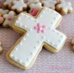 Comunión galletas decoradas vestidito niña chicuqui.com