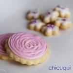 Flores galletas decoradas chicuqui.com