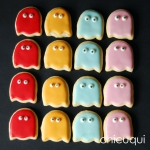 galletas decoradas comecocos decorated cookies pacman chicuqui.com