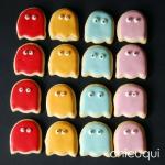 galletas decoradas comecocos decorated cookies pacman chicuqui.com