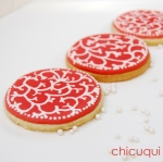 Galletas decoradas con stencils decorated cookies chicuqui.com