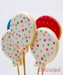 Globos Hello Kitty galletas decoradas chicuqui.com