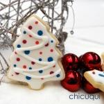 Navidad arboles azul galletas decoradas chicuqui.com