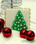 Navidad arboles enmarcados galletas decoradas chicuqui.com