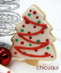 Navidad arboles rojos galletas decoradas chicuqui.com