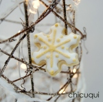 Navidad copo de nieve galletas decoradas chicuqui.com