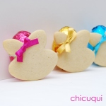 Pascua galletas decoradas Easter bunny decorated cookies chicuqui.com