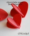 Receta de chocolate para San Valentín en chicuqui.com