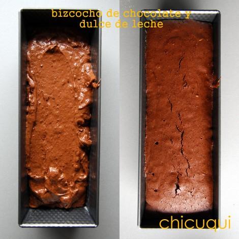 Receta de bizcocho de chocolate y dulce de leche en galletas decoradas chicuqui.com