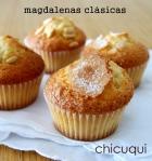 Receta de magdalenas clásicas en galletas decoradas chicuqui.com