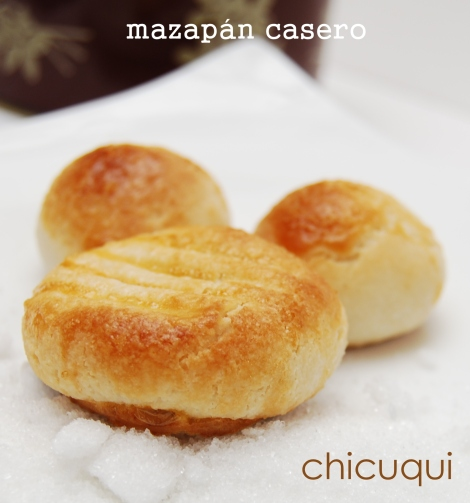 Receta de mazapán en galletas decoradas chicuqui.com