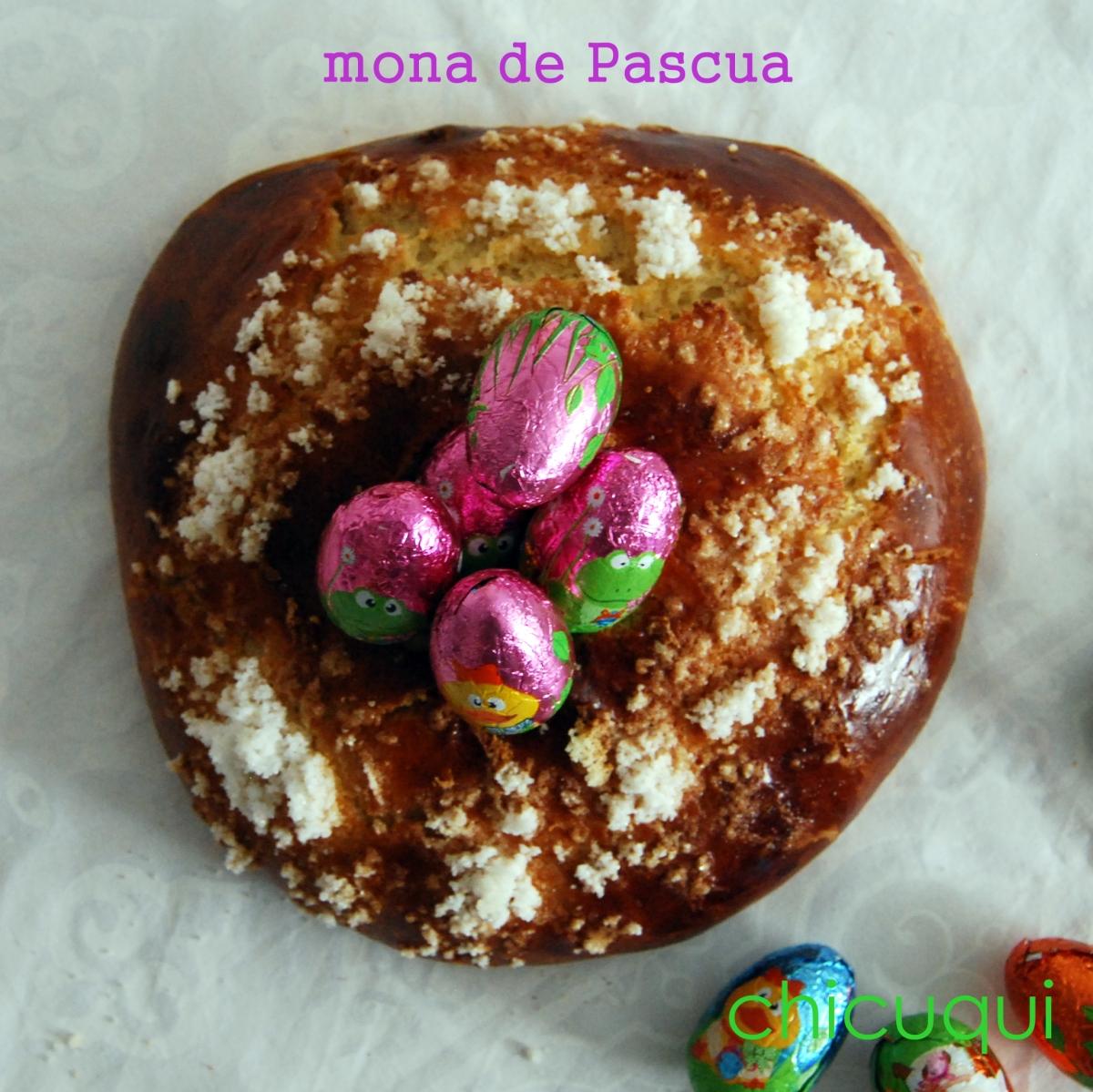 Receta de Mona de Pascua casera