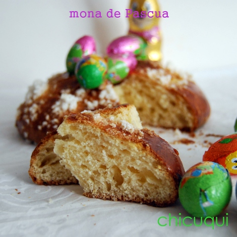 Receta de mona de Pascua Easter chicuqui.com