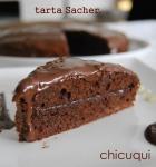 Receta de tarta sacher sin gluten sin lactosa en galletas decoradas chicuqui.com
