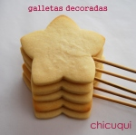 Receta galletas decoradas chicuqui.com