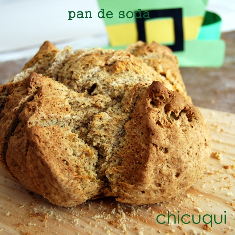 receta pan de soda San Patricio en galletas decoradas chicuqui.com