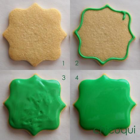 San Patricio galletas decoradas Saint Patrick decorated cookies chicuqui.com