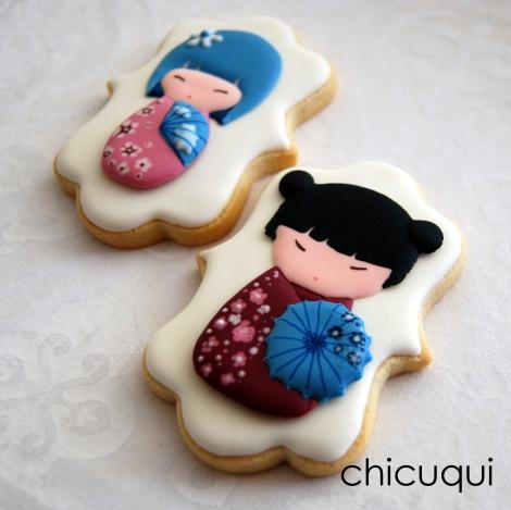 dibujos muñecas chinas galletas decoradas chicuqui.com