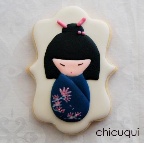 dibujos muñecas chinas galletas decoradas chicuqui.com 10
