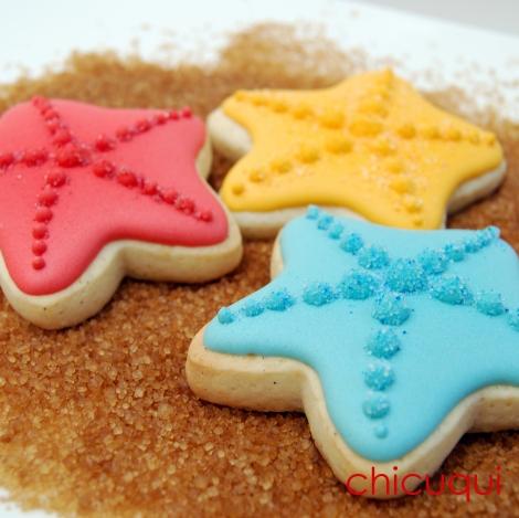 estrellas mar verano galletas decoradas chicuqui.com