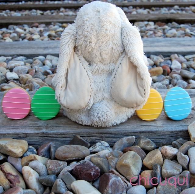 Huevos de Pascua Easter eggs en galletas decoradas chicuqui.com