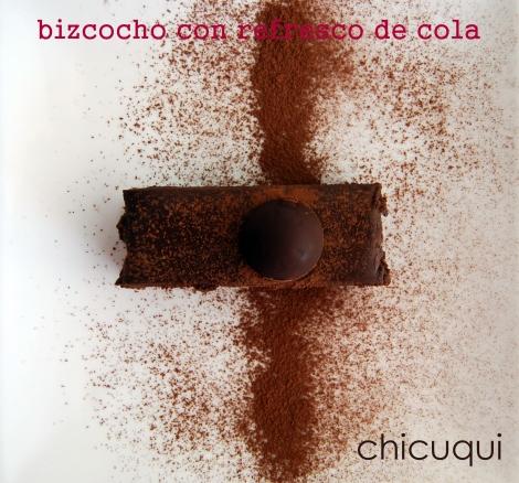 Receta de bizcocho con refresco de cola en galletas decoradas chicuqui.com