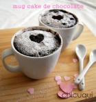 Receta de mug cake de chocolate en galletas decoradas chicuqui .com