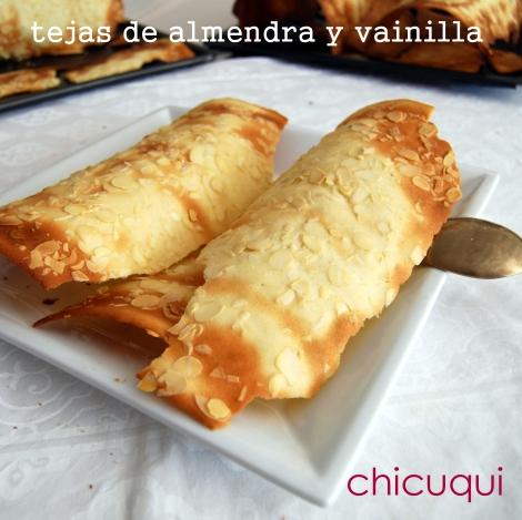 receta de tejas de almendra y vainilla en galletas decoradas chicuqui.com